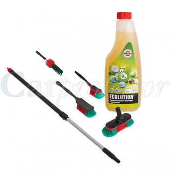 Car Clean Bundle - Profi / 6-teilig - Ecolution Powerreiniger