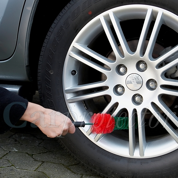 Car Clean Bundle - Profi / 6-teilig---Felgenbürste runde Form